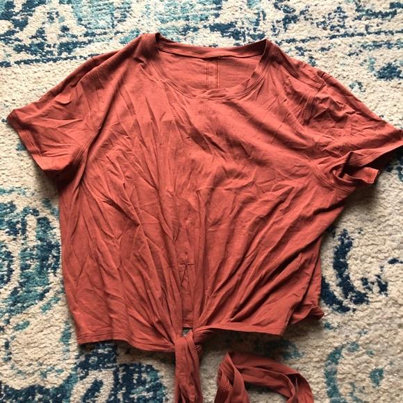 Lululemon Time to Restore Short Sleeve size 6